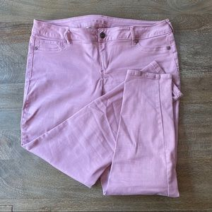 Maurices Jeans - Maurices Lavender Jeggings size XL regular